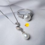 Pearl Ring and Pendant