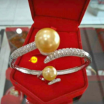 Shell Pearl Ring and Bracelet