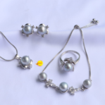 a Set of Pearl Jewelry